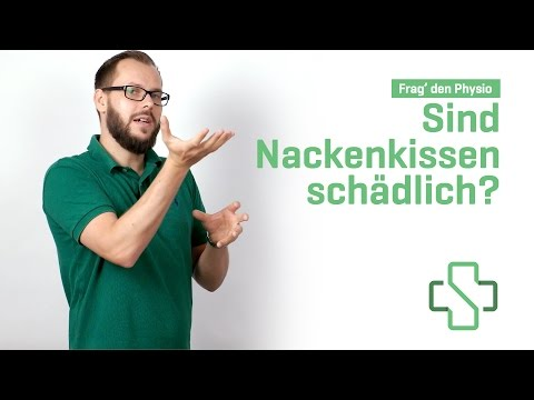 Sind Nackenkissen schädlich? – Frag den Physiotherapeuten