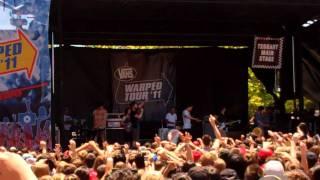 3Oh!3 - Robot - Warped Tour - 2 Jul 2011