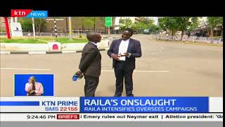 Raila Odinga castigates foreign envoys over their influence in the elections