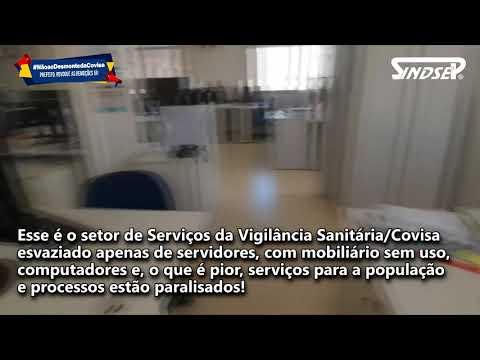 DESMONTE DA COVISA É PREJUÍZO DE DINHEIRO PÚBLICO E À SAÚDE DA POPULAÇÃO