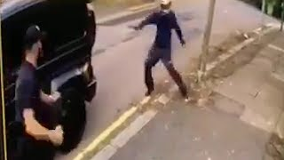 video: 'Abhorrent' gang which attempted to rob two Arsenal footballers jailed