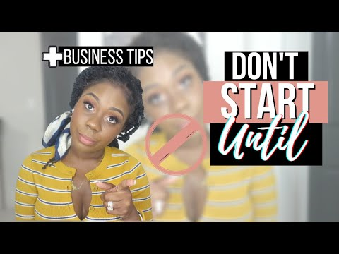 , title : '5 THINGS YOU MUST DO BEFORE STARTING A BUSINESS   START A BUSINESS THE RIGHT WAY