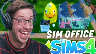 Try Guys $1,000,000 Office Competition In Sims 4