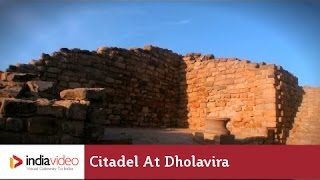 Citadel at Dholavira, a Harappan city