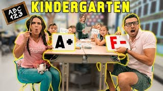 Going Back To KINDERGARTEN For A Day! *CHALLENGE*   The Royalty Family