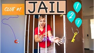 Extreme MYSTERY Prison ESCAPE Challenge! (Difficulty: HARD!)