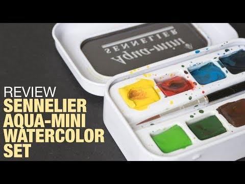 Review: Sennelier Aqua-Mini Watercolor Set