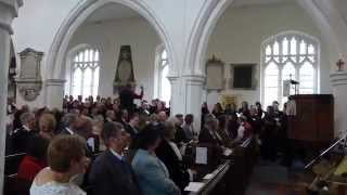 preview picture of video 'City Chorus Letchworth performing Worthy Is The Lamb'