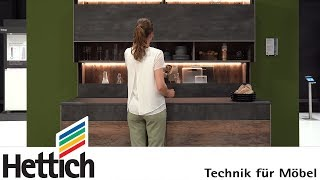 Sliding Vertically! Kitchen Furniture In A New Dimension – Hettich