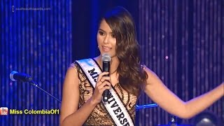 Paulina Vega, Miss Universe in The South-South Awards