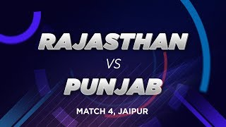 Cricbuzz LIVE: Match 4, Rajasthan v Punjab, Pre-match show