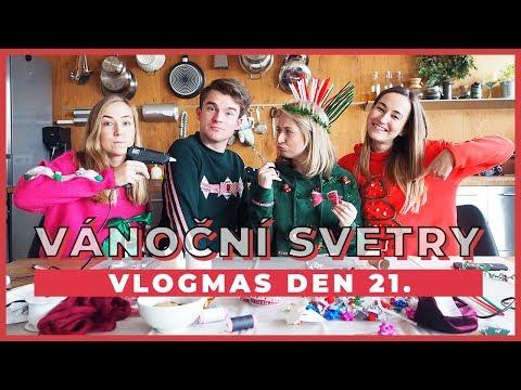 VLOGMAS Den 21. | Vánoční svetry s Shopaholic Nicol a Kovym!