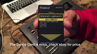 R8 & Dance Card With TR-909 Sounds