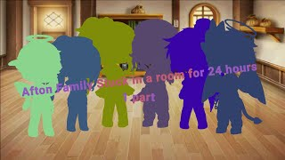 Afton Family Stuck In A Room For 24 Hours Challenge