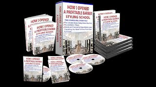 How To Open A Cosmetology School, Barber School and Become Accredited, Grants