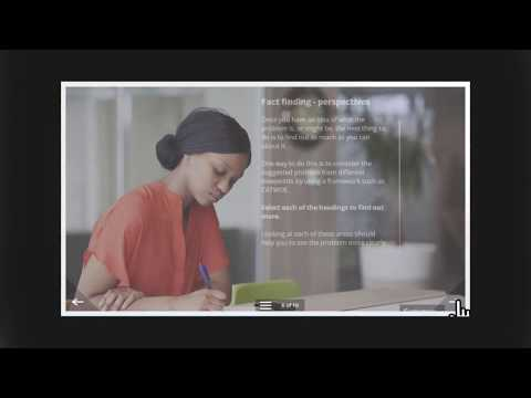 Problem solving e-learning course - YouTube