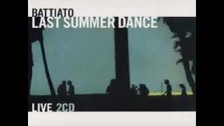 Battiato - Caffè de la paix - Live Last summer dance