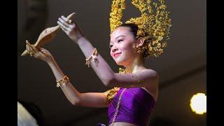 น้องลูกหว้า : สาวน้อยลูกครึ่งที่หลงใหลในวัฒนธรรมไทย