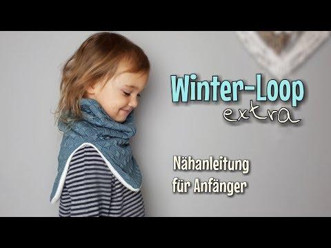 Winterloop Extra - Nähanleitung für Anfänger - OHNE Schnittmuster - Nähtinchen