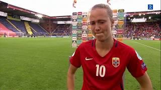 Caroline Graham Hansen är Väldigt Ledsen Efter Förlusten