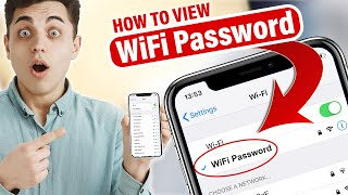 How to View WiFi Passwords on iPhone/iPad - How To Show WiFi Key or Password on your iPhone 2020!