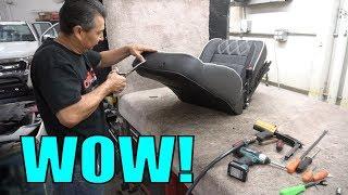 HOW THE PROS MAKE CUSTOM CAR SEATS