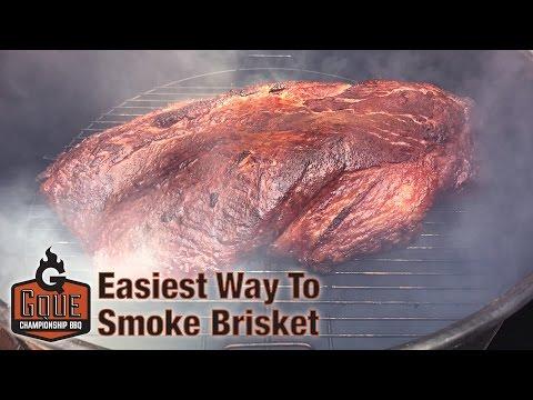 Easiest Smoked Brisket Recipe (2019)