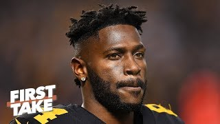 Antonio Brown's off-the-field issues make him unworthy of a 1st-round pick - Will Cain | First Take