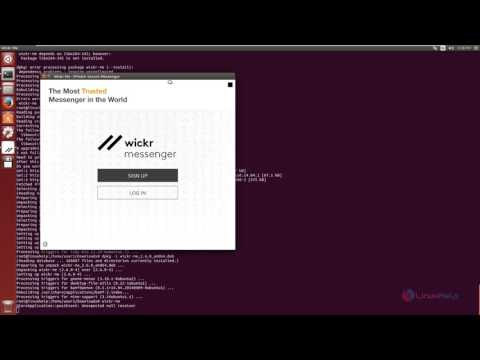 How to install Wickr App in Linux | LinuxHelp Tutorials