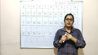 Trick to learn d block Elements.