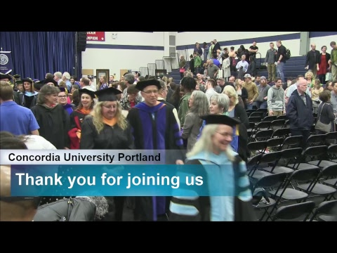 2018 Concordia University Spring Commencement #3