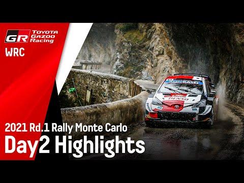 トヨタGazooRacing WRC 2021 Day2のハイライト動画