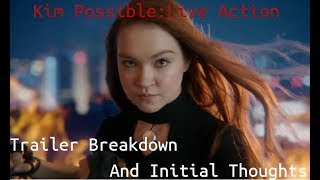 Kim Possible: Trailer Breakdown & Thoughts