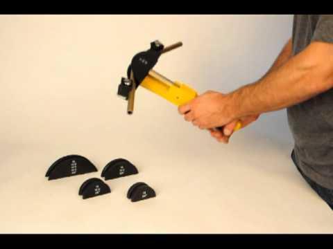 Einhand-Rohrbieger für Rohre bis 32 mm