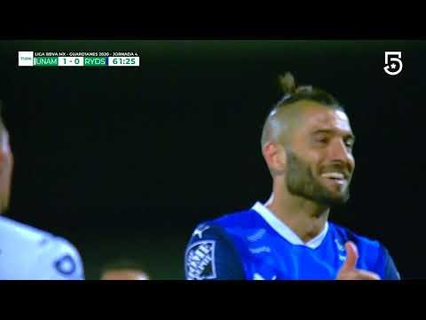 Gol N. Sánchez   Pumas 1 – 1 Monterrey   Liga MX – Guardianes 2020 – Jornada 4   LIGA BBVA MX