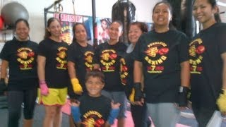 preview picture of video 'Boxing Fitness Class at PearlSide Boxing Gym'