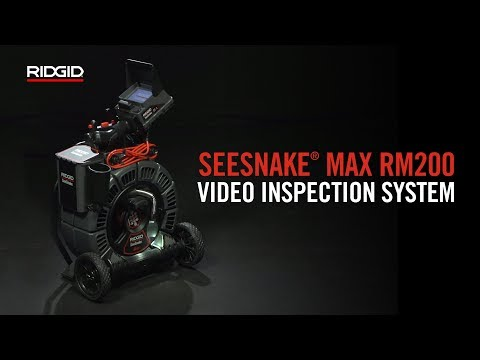 RIDGID Seesnake® Max RM200 Video Inspection System