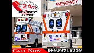 Obtain Hi-Tech Emergency Ambulance Service in Samastipur and Purnia