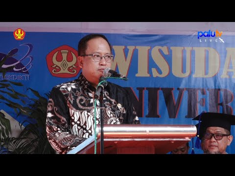 Live Streaming WISUDA KE-94 LULUSAN UNIVERSITAS TADULAKO 2018