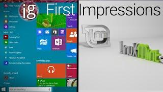 Windows 10 vs Linux | Linux Mint 17.2 Impressions