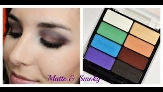 Speedtorial: Matte & Smoky with the Drinking A Glass of Shine Palette | Bailey B.