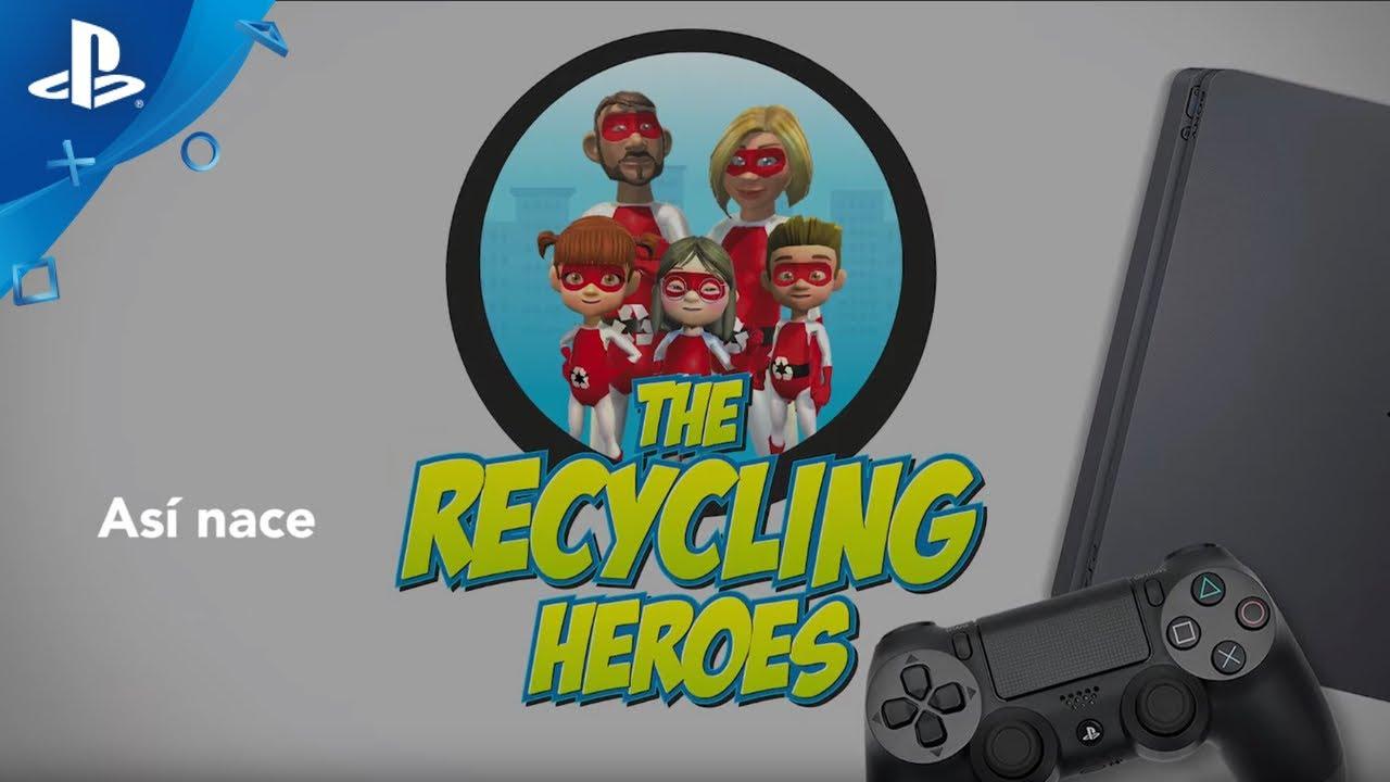 PlayStation y Fundación 3M presentan el videojuego inclusivo The Recycling Heroes
