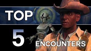 Fallout 4 - Top 5 Random Encounters!