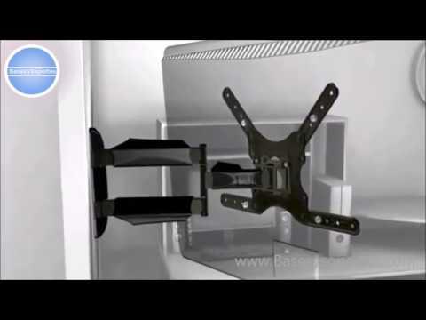 soporte de brazo giratorio para TV led smart Lcd Oled Curvo
