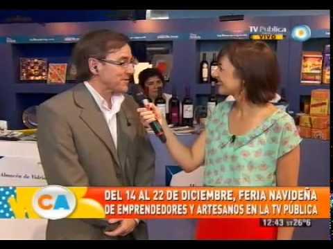 Feria Navideña en la TV Pública