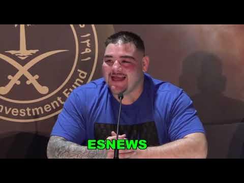 Full Post Fight Ruiz vs Joshua 2 Hear From The Stars And The Coaches  EsNews Boxing
