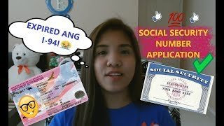 HOW TO APPLY FOR SOCIAL SECURITY NUMBER + TIPS!| Irish Jane♥