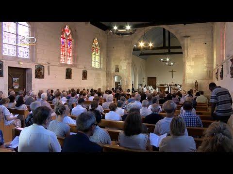 Saint-Etienne-du-Rouvray commémore le 3e anniversaire de l'assassinatdu père Jacques Hamel