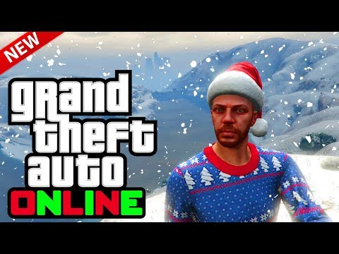 GTA Online: NEW Festive Surprise 2018 Items Next Week! Gifts, Christmas Trees & More! (GTA 5 Online)
