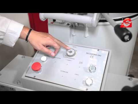 Secadora Centrífuga de Aire Caliente - SAV 70 - Introducción